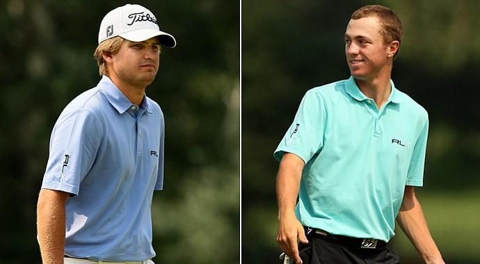 Bobby Wyatt (left) and Justin Thomas