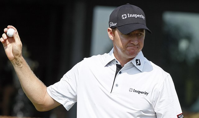 Jimmy Walker leads the Wyndham Championship after two rounds.
