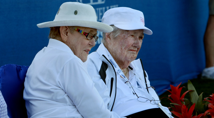 LPGA Founder Louise Suggs, 88, says she was a 'good startled' when she heard that Augusta National had admitted two female members.