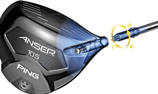 Ping's Anser adjustable driver