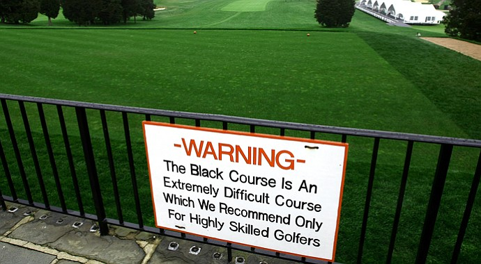 Bethpage Black could present problems for even the most skilled of golfers.