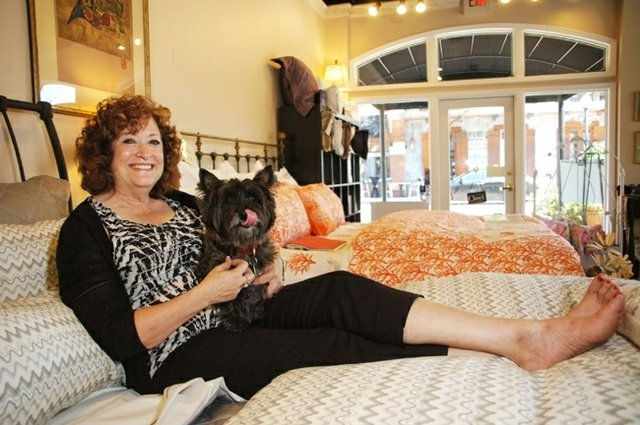 Sandra Lomowski, who owns Classic Iron Beds and Designer Linens in Winter Park, said it's the quality that she loves about selling American products.