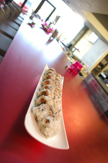Sushi Pop offers loads of inventive dishes.