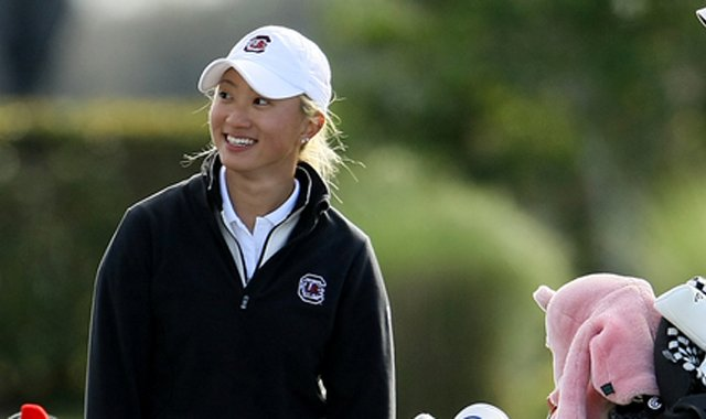 Suzie Lee is one of three returners from the South Carolina team that finished fifth at last year's NCAA Championship.