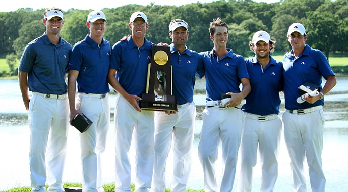 The Augusta State Jaguars repeat as the 2011 NCAA Division I Champions at Karsten Creek in Stillwater, Oklahoma.