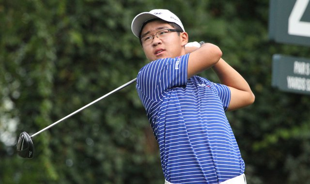 Jim Liu fired a 2-under 70 to share the lead at the Junior Players Championship.