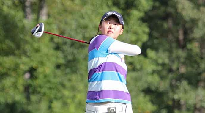 Simin Feng won the the AJGA Girls Championship for her first AJGA title in more than two years.