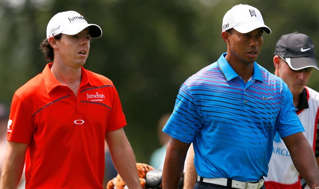 Rory McIlroy and Tiger Woods are the lone three-time winners on the 2012 PGA Tour. Both players have provided insight on the mental state frequently referred to as &quot;the zone.&quot;
