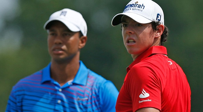 Tiger Woods and Rory McIlroy will tee it up together again this week at East Lake.