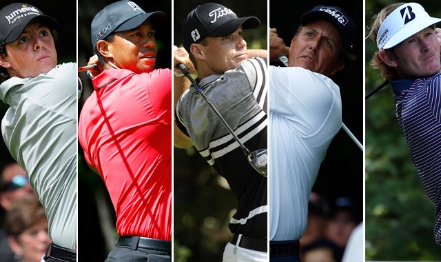 Rory McIlroy, Tiger Woods, Nick Watney, Phil Mickelson and Brandt Snedeker will win the FedEx Cup with a win at the Tour Championship.