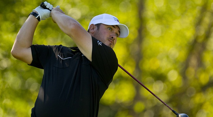 Brad Valois won his match, 2 and 1, on Monday at the U.S. Mid-Amateur.