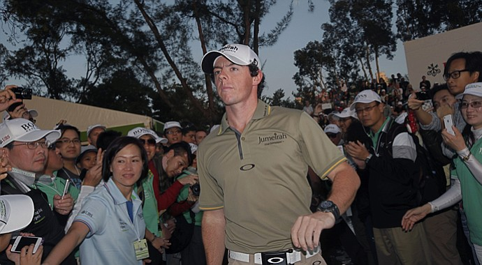 Rory McIlroy won the 2011 Hong Kong Open.