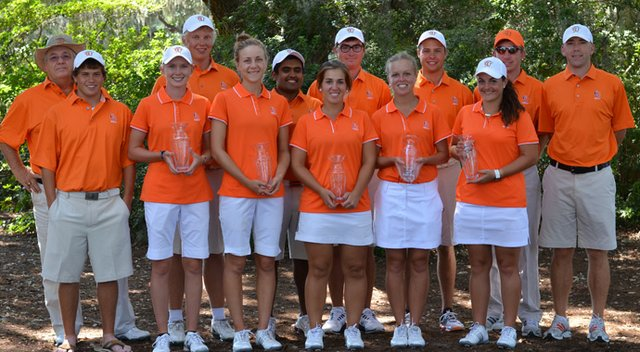 The Campbell men and women won a second consecutive Golfweek Program Challenge title on Sept. 11.