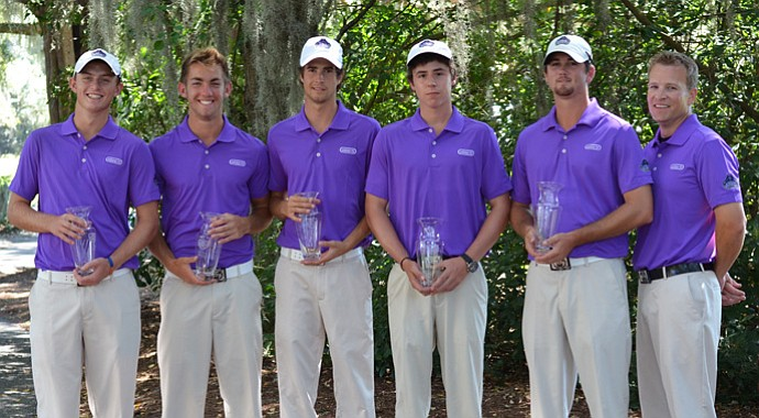 Central Arkansas won the men's team title at the Golfweek Program Challenge.