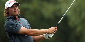 Uihlein in contention for a Euro Tour card in Italy