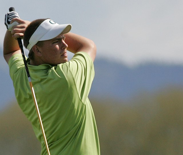 Former Oregon player Daniel Miernicki advanced out of the first stage of PGA Tour Q-School.