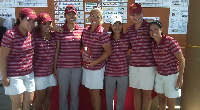 Iowa State after winning the Branch Law Firm/Dick McGuire Invitational.