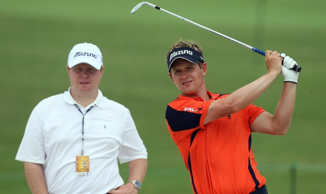 Pat Goss and Luke Donald