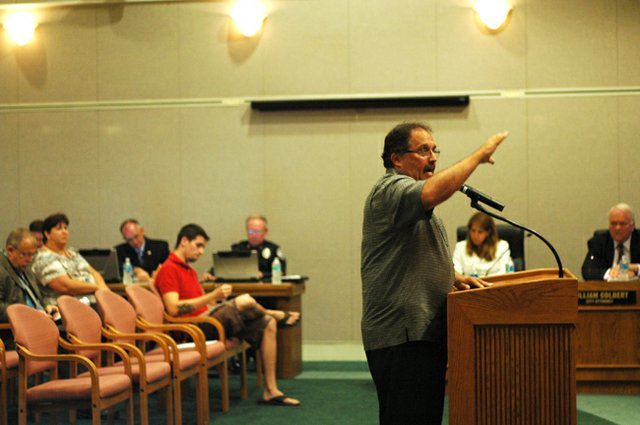 Former Orlando Magic Coach Stan Van Gundy spoke with the Oviedo City Council about an initiative to save Seminole County Schools at the Sept. 17 Council meeting.