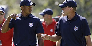 Roll call: Tiger Woods' partners in Ryder, Presidents cups