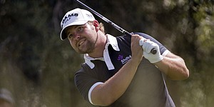 Ryan Moore shoots 61 to take Las Vegas lead