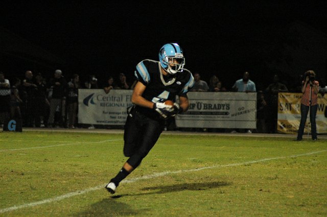 Hagerty leveraged a strong run game to win their first of the season Oct. 5.