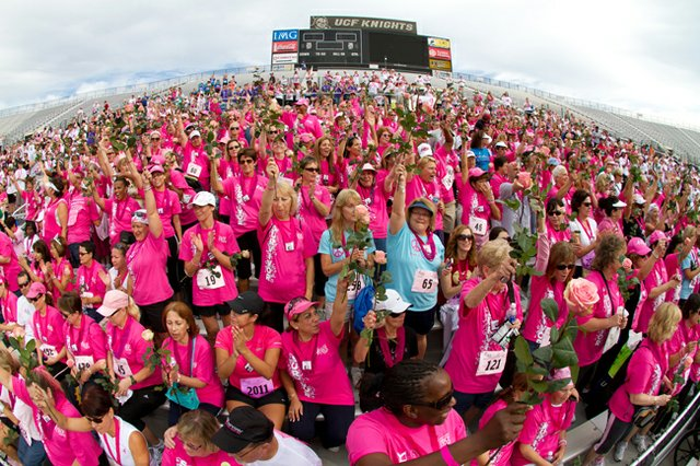 The 16th Annual Komen Central Florida Race for the Cure will be held Sunday, Oct. 21, at the University of Central Floridas Bright House Networks Stadium.