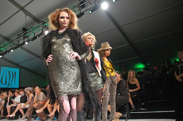 Harriet's Park Avenue Fashion Week's runway show starts at 7 p.m. Saturday, Oct. 20, in Central Park's West Meadow.