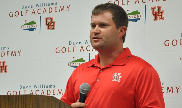 Director of Golf Jonathan Dismuke will help start the new women's golf program at Houston.