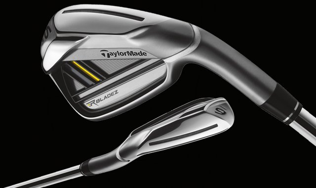 TaylorMade's new RocketBladez line of irons.
