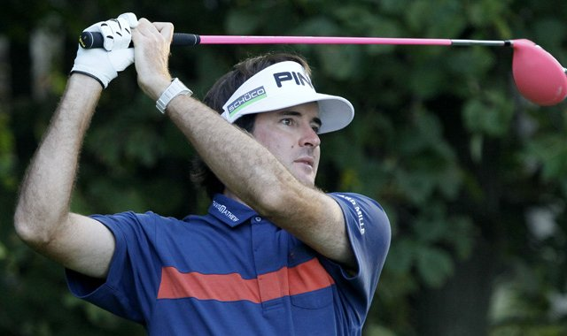 "Bubba Watson has dubbed his style of golf ""Bubba Golf."""