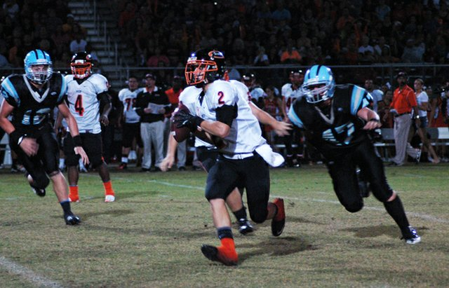 Oviedo's David Joyce caught more than 130 yards of passes to defeat Edgewater Oct. 18.