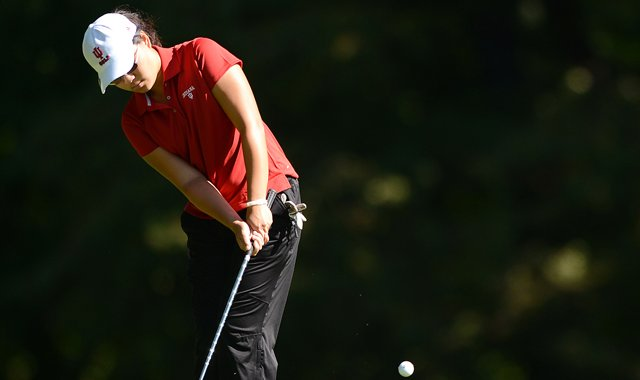 Indiana sophomore Elizabeth Tong tied for individual medalist honors at the Las Vegas Collegiate Showdown.