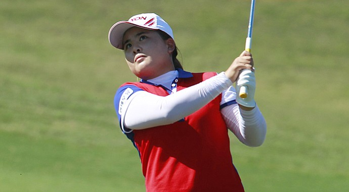 Inbee Park during the Taiwan Championship.