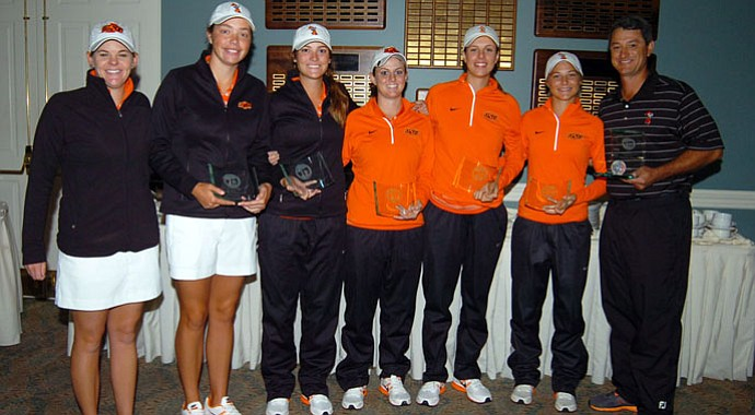Oklahoma State captured the title at the Landfall Tradition as the tournament was shortened to 18 holes.