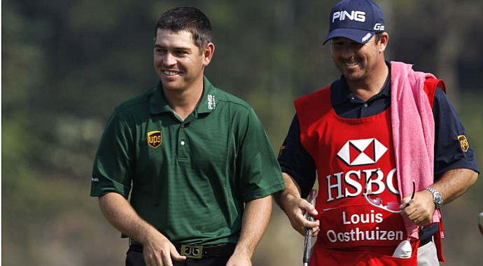 Louis Oosthuizen will take a five-shot lead into the weekend at the HSBC Champions.