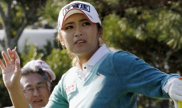 Bo-Mee Lee during the Mizuno Classic.