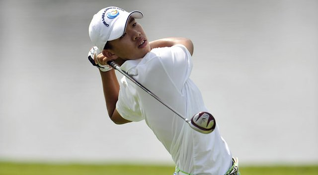 Tianlang Guan leads by two shots entering the final round of the Asia-Pacific Amateur.