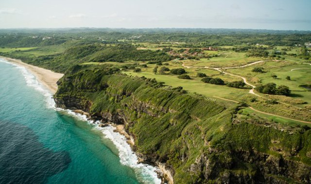 An aerial photo of Royal Isabela