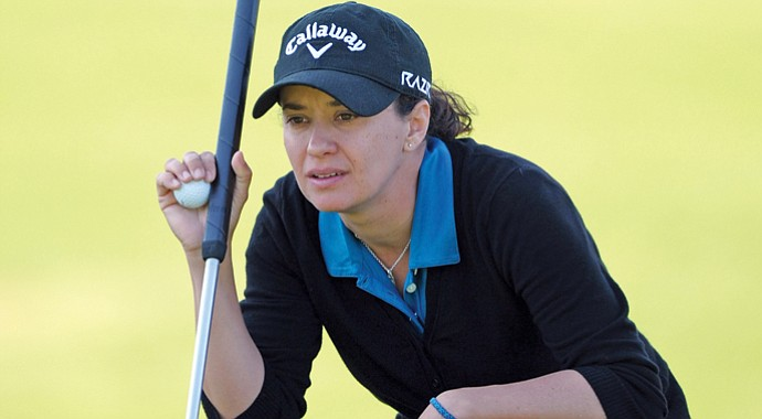LPGA rookie Mo Martin started using the long putter at the age of 6.