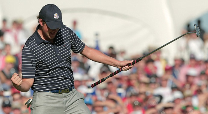 Webb Simpson was one of three players to win a major in the past 15 months using a long putter.