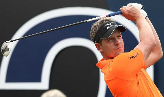 Luke Donald is making his PGA Tour debut this week at Riviera.