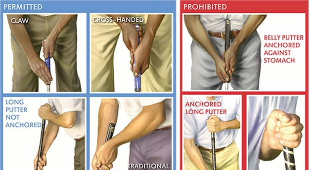 USGA, R&A move forward on anchoring ban
