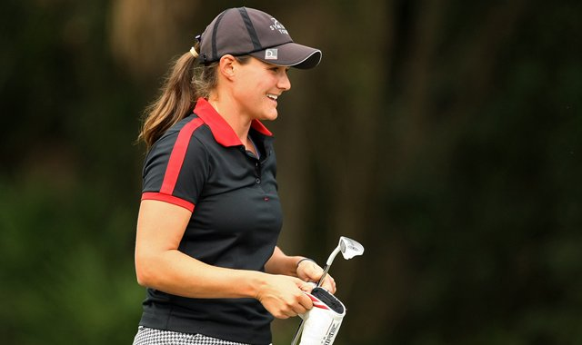 Stefanie Kenoyer made the 72-hole cut on the number Saturday at LPGA Q-School.