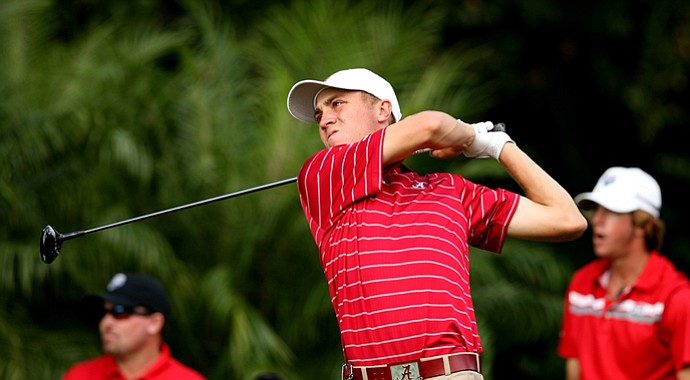 Alabama's Justin Thomas is one of 27 players to be named to the Ben Hogan Watch List in 2013.