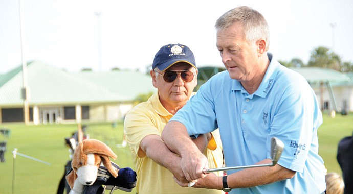 Golf 2.0 aims to boost participation by targeting nine consumer groups with tailored programs. Seniors and retirees are among those who will gain extra attention from PGA professionals such as Martin Hall (right).
