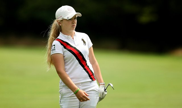 Bronte Law advanced to the second round of match play at the 2012 U.S. Women&#39;s Amateur.