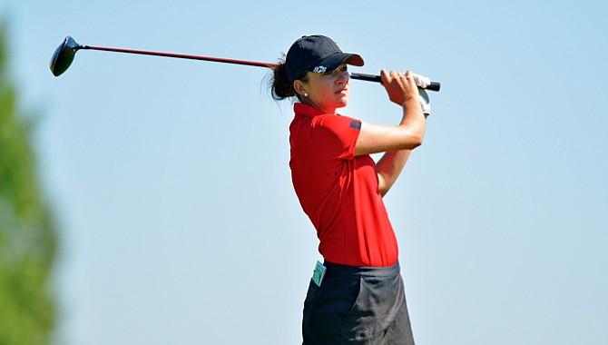Kim Kaufman is the top-ranked female in the Golfweek/Sagarin College Rankings.