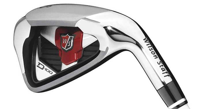 The new Wilson Staff D-100 6-iron.