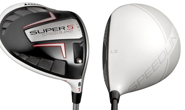 The new Adams Super-S (left) and Super-LS (right) drivers.